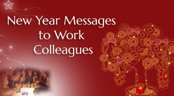 Happy New Year 2020 wishes for collages and employees