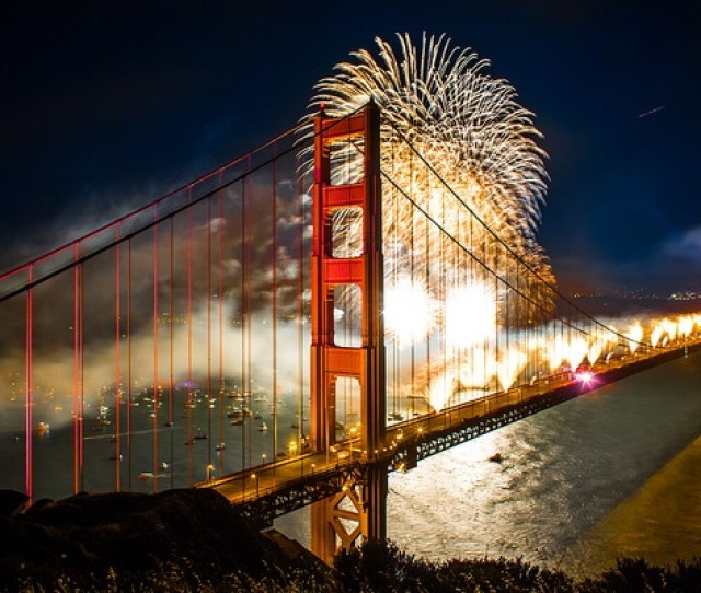 Nye Fireworks In San Francisco
