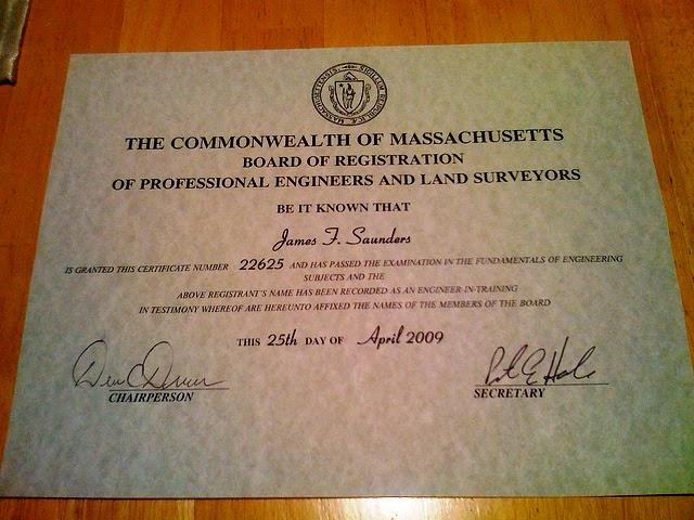 كيفية الحصول على رخصة ممارسة المهنة كمهندس في أمريكا