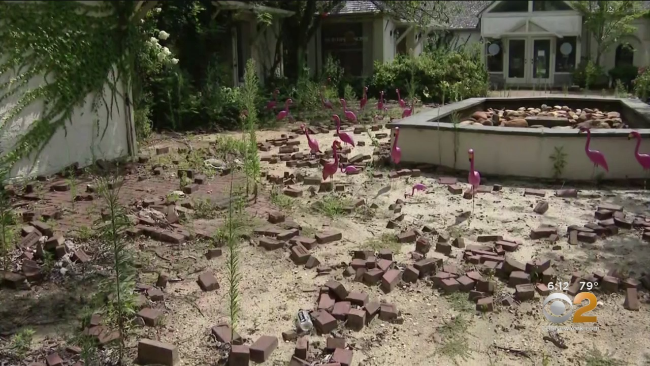 Long Island Property Owner Accused Of Ruining His Courtyard On Purpose Over Building Dispute