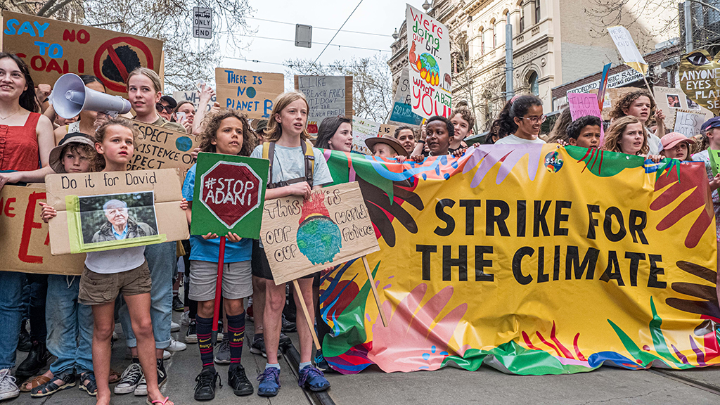 Students In NYC, Around The World Stage Global Climate Strike Ahead Of U.N. Summit