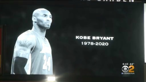 Knicks, Nets Pay Tribute To Kobe Bryant Prior To Sunday's Game At MSG