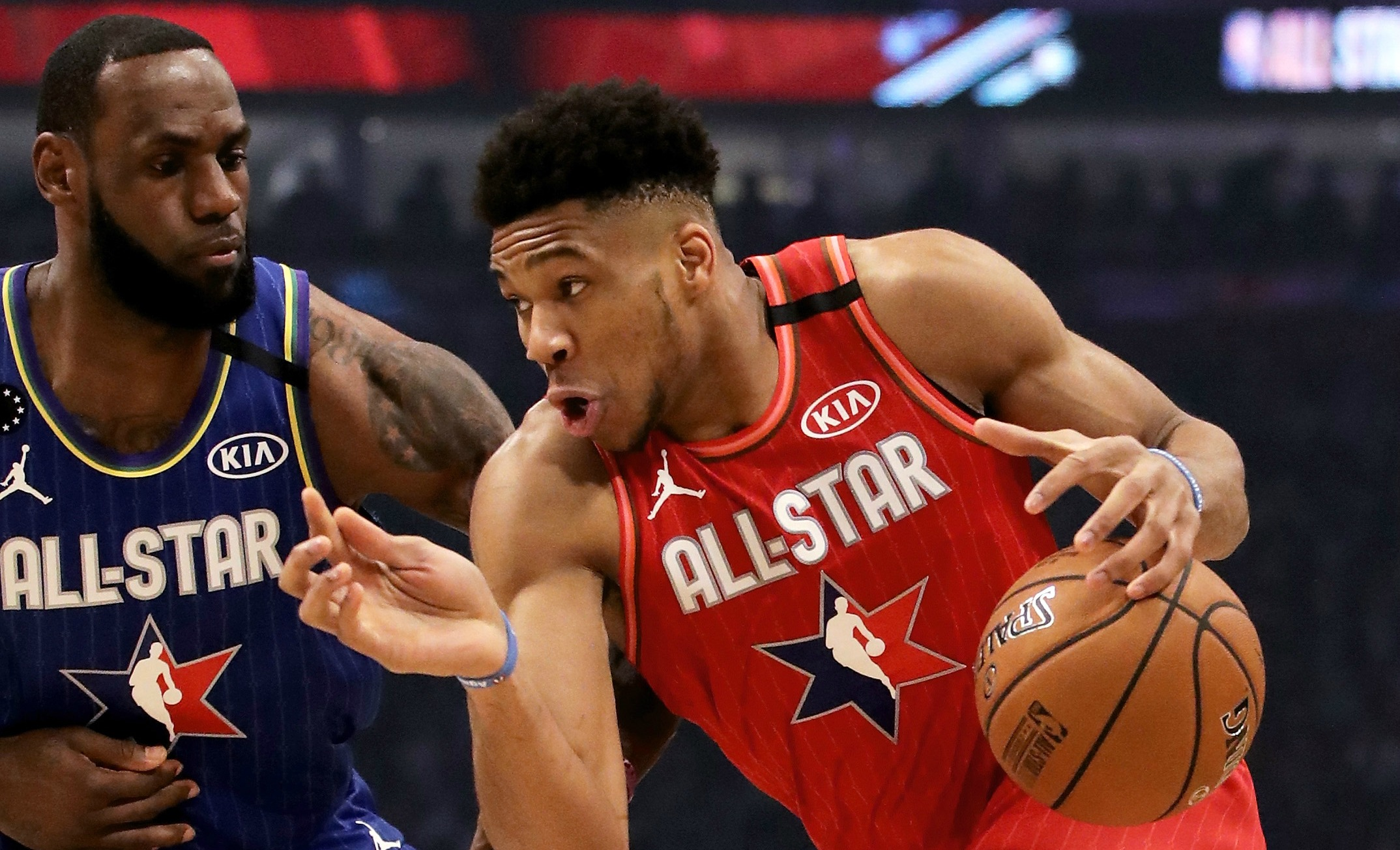 Team LeBron Edges Team Giannis At NBA All-Star Game