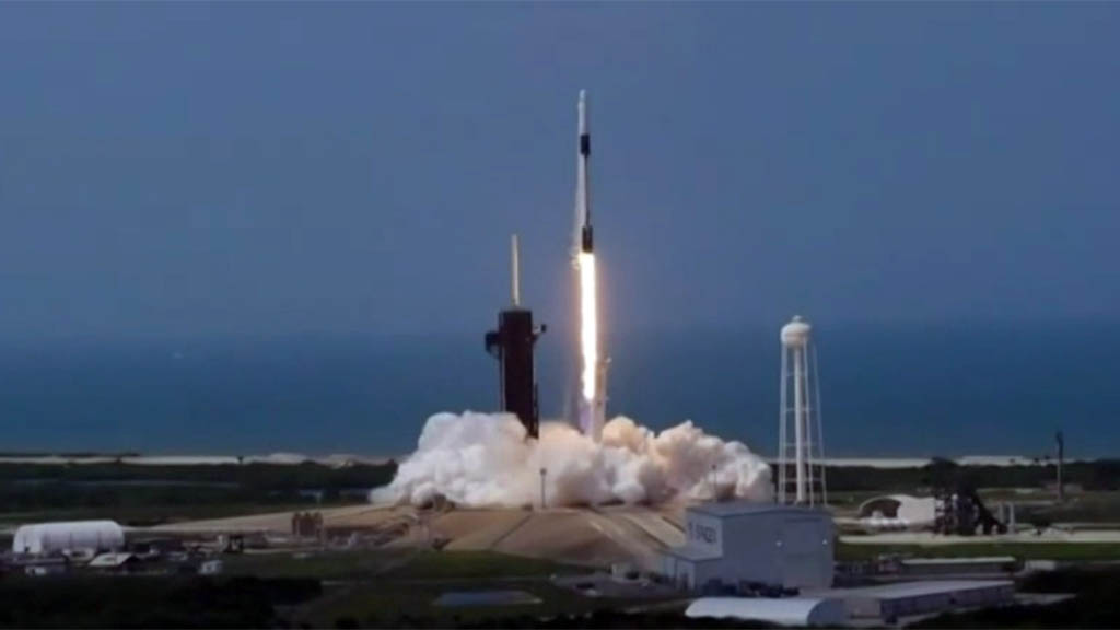 SpaceX, NASA Make History With Afternoon Launch