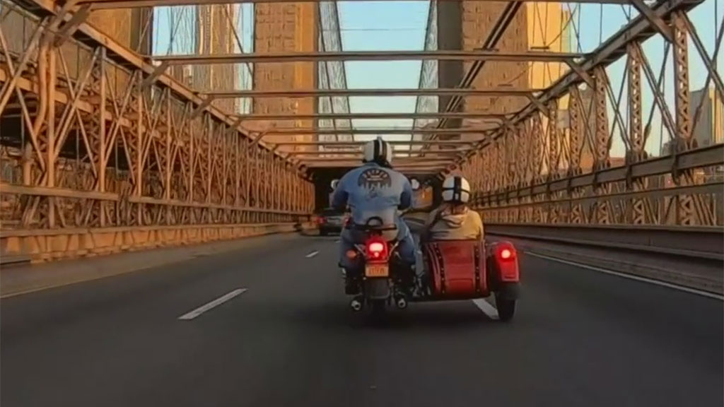 Snapshot NY: Motorcycle Sidecar Tour Business Now Helps Health Care Heroes Get To Work