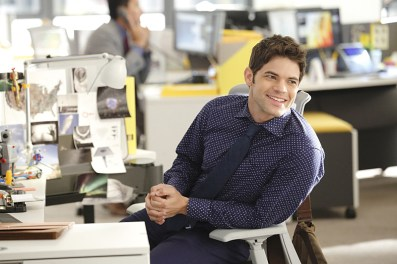 """""""Fight or Flight"""" -- Cat plans to run an exposé on Supergirl, on SUPERGIRL, Monday, Nov. 9 (8:00-9:00 PM, ET/PT) on the CBS Television Network. Pictured: Jeremy Jordan Photo: Trae Patton/CBS ©2015 CBS Broadcasting, Inc. All Rights Reserved"""