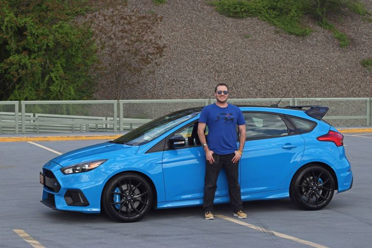 2018 Ford Focus RS with NewYorKars founder Al Khoury