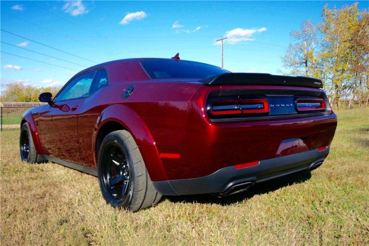 2018 Dodge Demon at Barrett Jackson Jackson Northeast 2019 auction