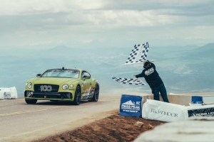 Bentley Continental GT breaks Pike Peak record for production cars