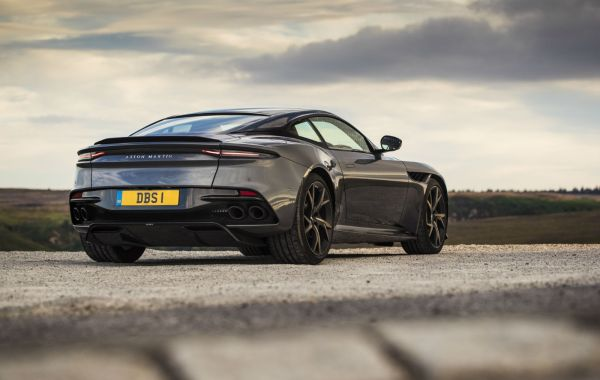 The Aston Martin DBS Superleggera will be featured in the next Bond film, No Time to Die