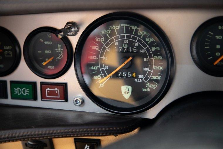 1984 Lamborghini Countach LP5000 S owned by Mario Andretti