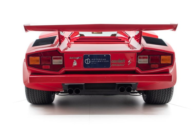 1984 Lamborghini Countach LP5000 S owned by Mario Andretti