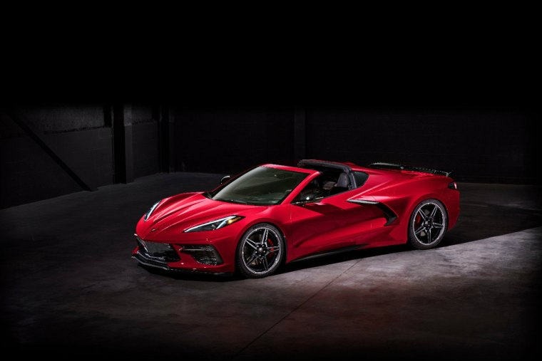 2020 Chevrolet Corvette Stingray. The C8 will be the first production mid-engined production Corvette
