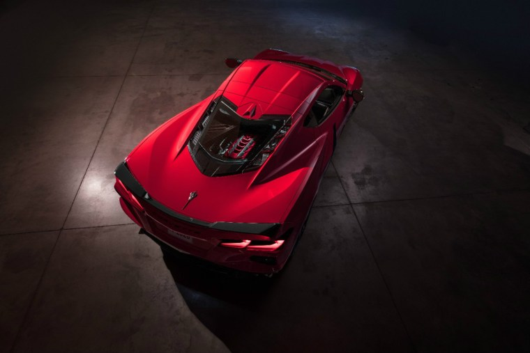 2020 Chevrolet Corvette Stingray. The C8 will be the first production mid-engined Corvette