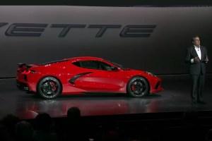 2020 Chevrolet Corvette C8 reveal