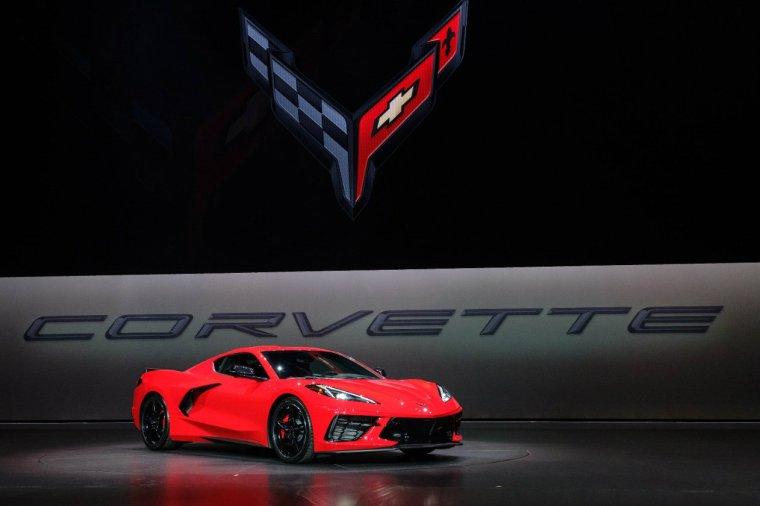 2020 Chevrolet Corvette Stingray reveal