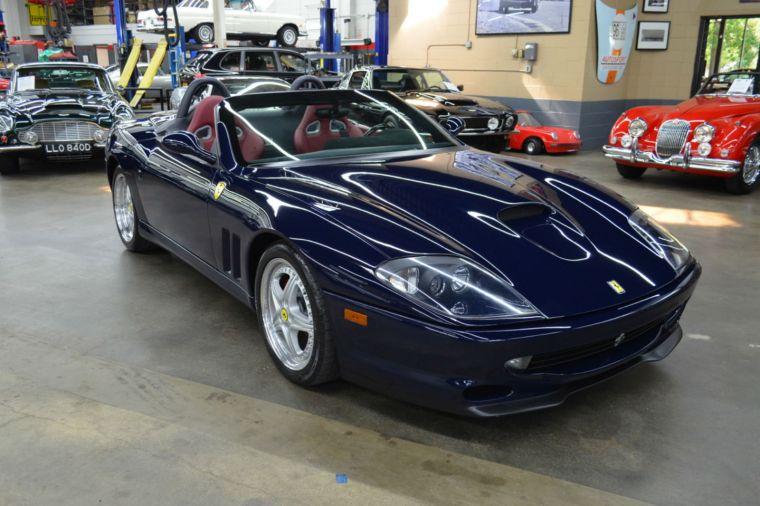 2001 Ferrari 550 Barchetta at Autosport Designs