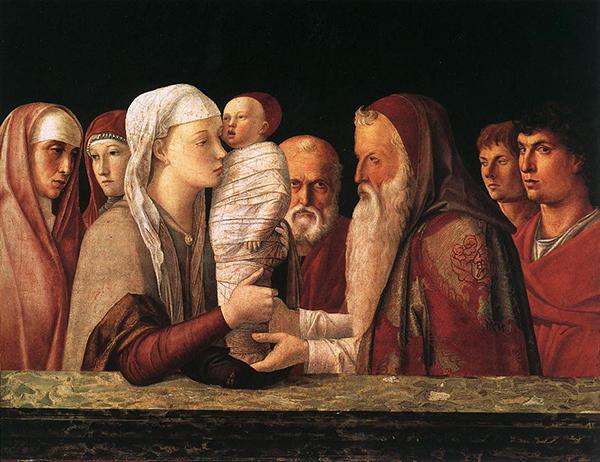 Giovanni Bellini, Presentation in the Temple, c. 1469. Fondazione Querini Stampalia.