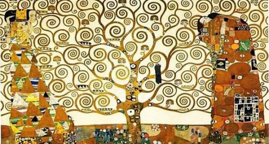 Gustav Klimt, The Tree of Life, 1909, Palais Stoclet, Brussels
