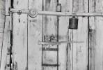 Walker Evans, Kitchen Wall, Alabama Farmstead, 1936