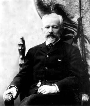 Pyotr Ilyich Tchaikovsky, 1890. From the Tchaikovsky House Museum, Klin.