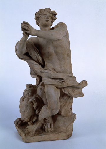 Fig. 8. Gian Lorenzo Bernini, Daniel in the Lions' Den c. 1655. Terracotta. Musei Vaticani, Vatican City, 2424