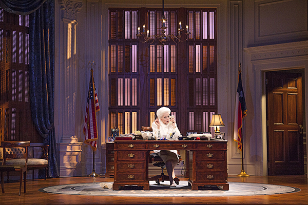 Governor Ann Richards at Work in Holland Taylor's solo play