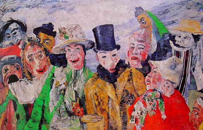 James Ensor, The Intrigue (1890)