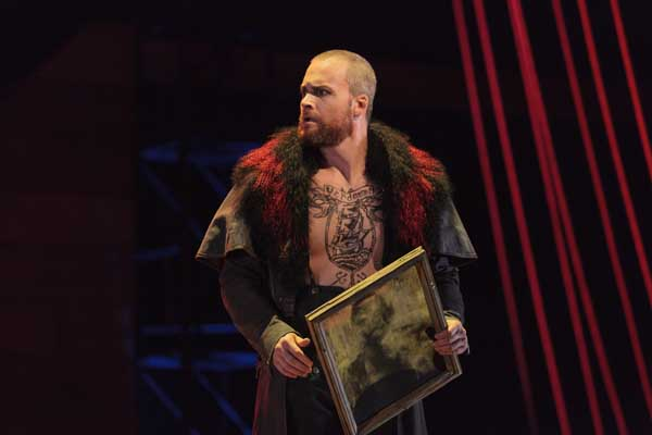 Ryan McKinny as the Dutchman in The Glimmerglass Festival's 2013 production of Wagner's The Flying Dutchman. Photo: Karli Cadel/The Glimmerglass Festival.