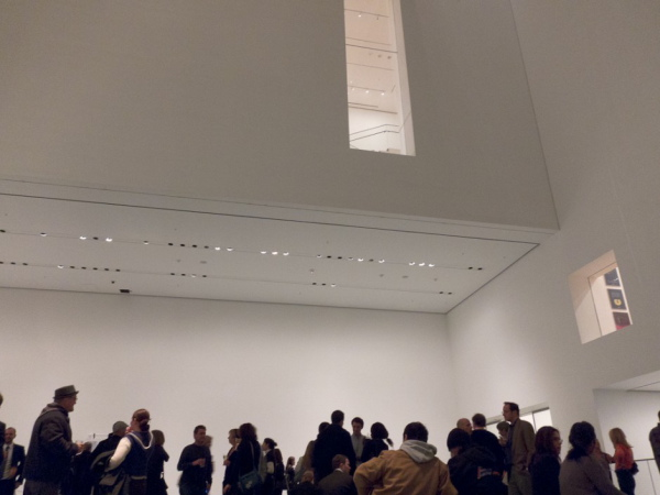 Party at MoMA. Photo by Michael Miller.