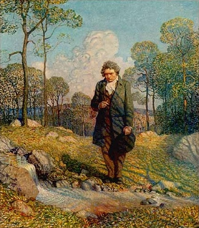 Beethoven and Nature, by N. C. Wyeth