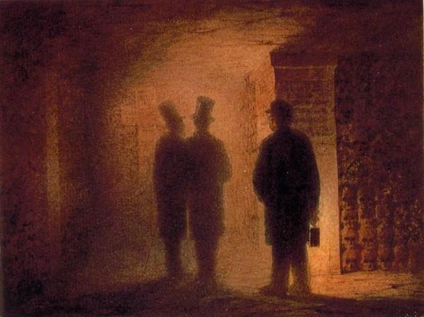 Viktor Hartmann (1834–1873), Paris Catacombs