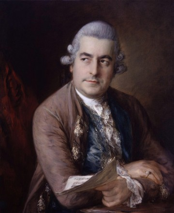 Thomas Gainsborough, Portrait of Johann Christian Bach