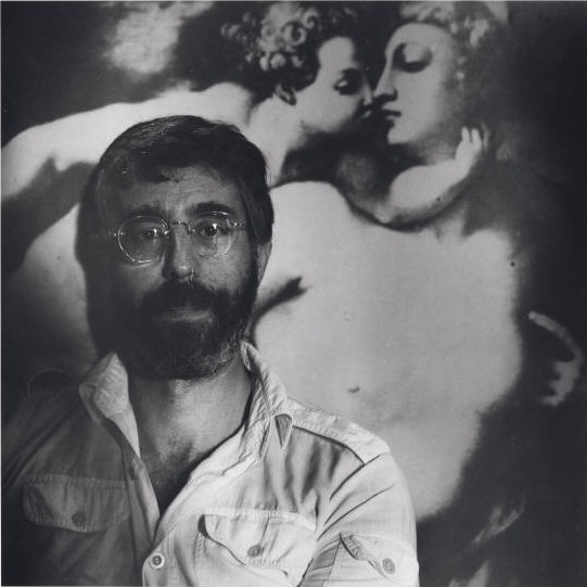 Lloyd Schwartz, 1988, by Robert Giard