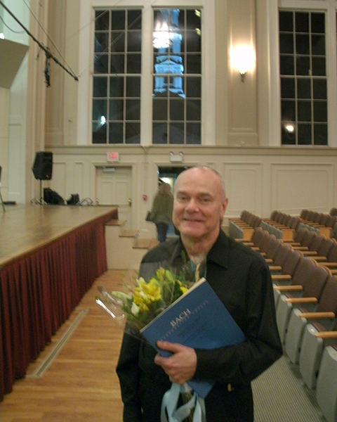 Music Director and Conductor of the UNC Symphony Orchestra. Photo Steven Kruger.