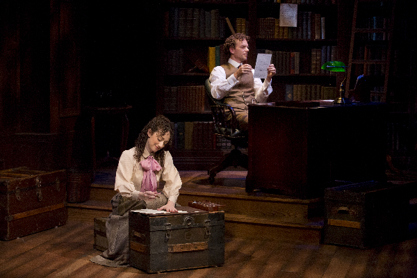 Megan McGinnis and Paul Alexander Nolan in Daddy Long Legs. Photo Jeremy Daniel.