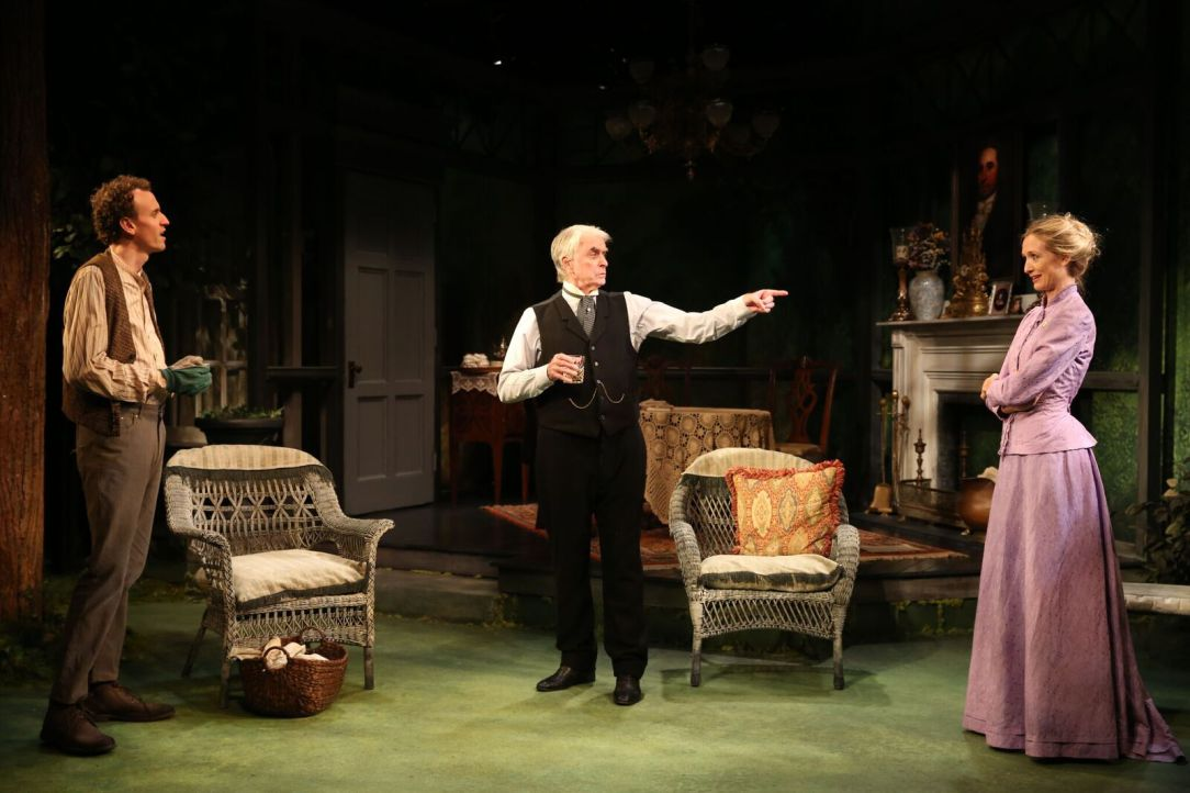 The Home  Place by Brian Friel, New York Premiere, at  the Irish Repertory Theatre, closing December 17.