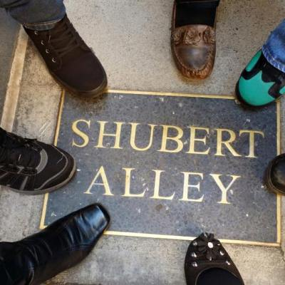 Shubert Alley Footsies