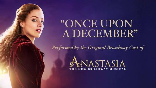 Get a first listen of a performance from Anastasia The Musical's first preview last n…