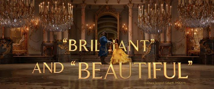 Who has caught Disney's newest live action remake of Beauty and the Beast out in Thea…