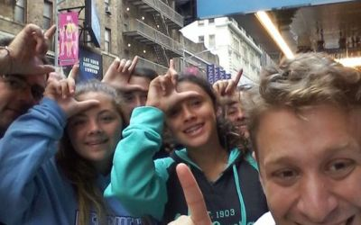 Had a fun day on this cloudy last day of August with our GLEEKS ON BROADWAY Walking t