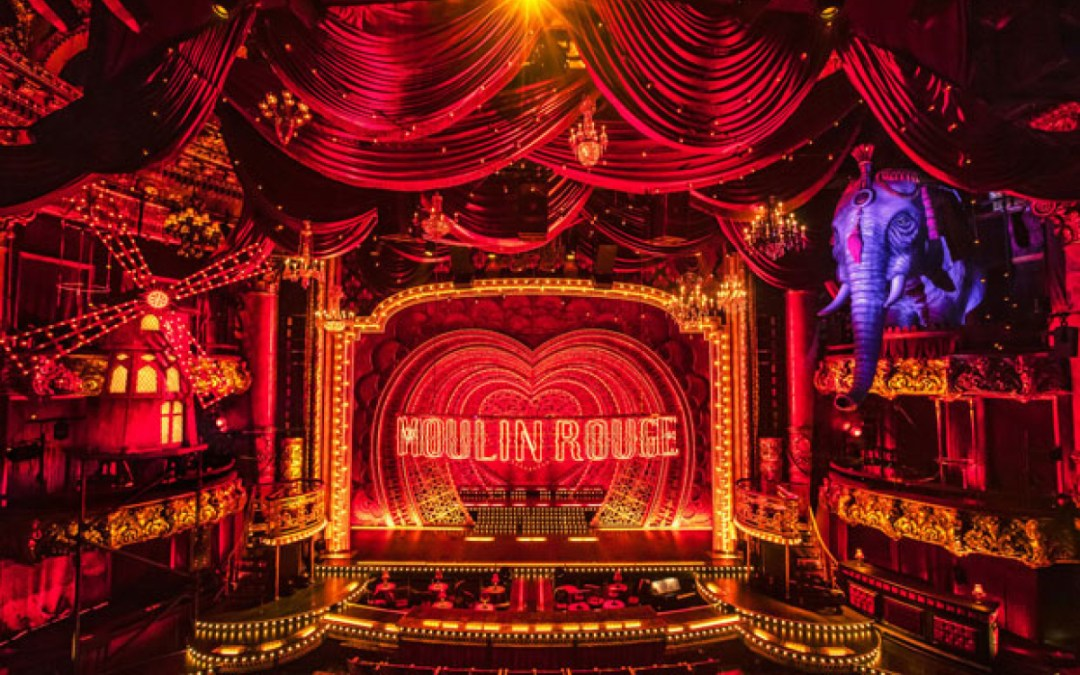 Moulin Rouge! Reveals Its Set, Begins Performances