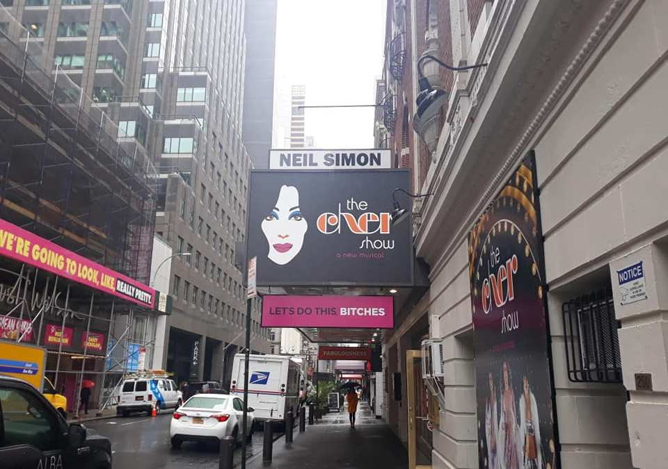 ON THE MARQUEE: Audiences are raving and BELIEVING for the 2 time Tony winning smash