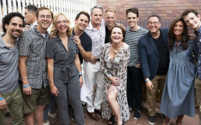 Photo Flash: Original Cast of DEAR EVAN HANSEN Assembles To Send Off Jennifer Laura Thompson And Mic…