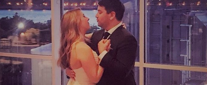 Photos: Broadway's Alex Brightman Ties the Knot in Brooklyn!