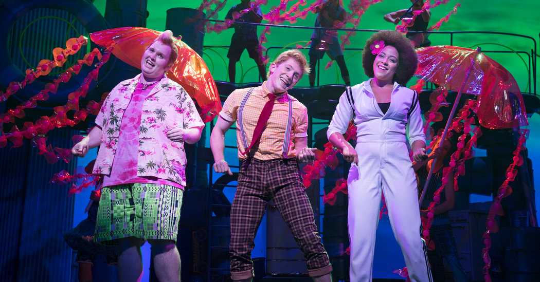 'SpongeBob' Musical Will Close on Broadway and Plan for a Tour