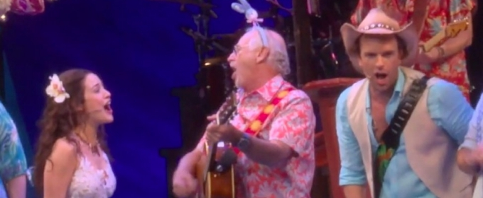 BWW TV: Jimmy Buffett and the Cast of ESCAPE TO