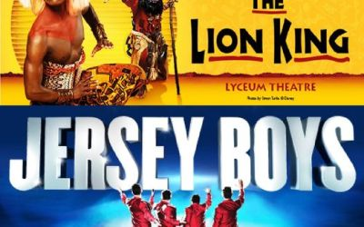 WELCOME BACK LION KING & JERSEY BOYS LONDON