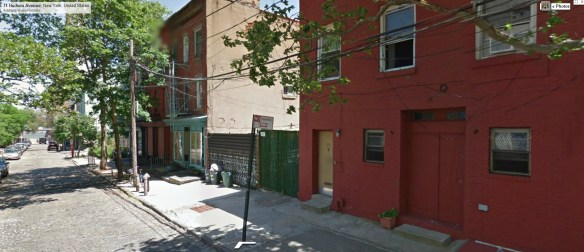 75 Hudson Ave., Brooklyn. Home of Salvador Agron in the 1950s
