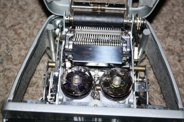 Inside of a LaSalle Stenographer Machine